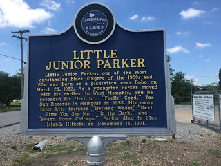Junior Parker marker | by michaelwfreem