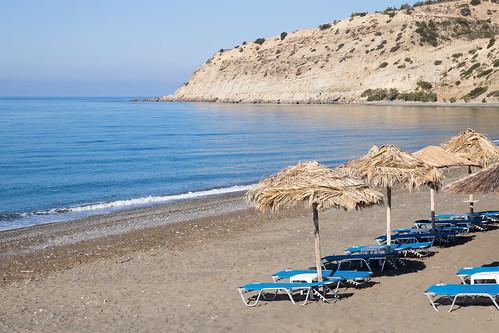 Myrtos, beach