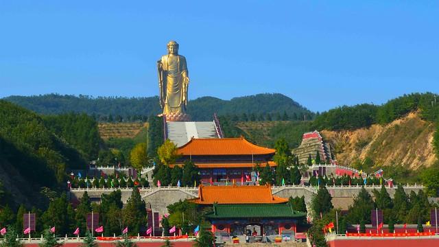 Spring Temple Buddha 3