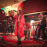 Tue, 09/05/2017 - 7:16pm - Maggie Rogers delights a room of WFUV members at Electric Lady Studios in New York City, 5/9/17. Hosted by Carmel Holt. Photo by Gus Philippas