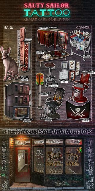 NEW RO- Salty Sailor Tattoo Parlor