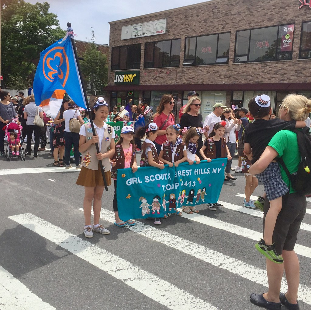 Memorial Day Parade, Metropolitan Avenue, Forest Hills, NY