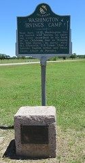 Washington Irving's Camp Marker and Monument (Arcadia, Oklahoma)