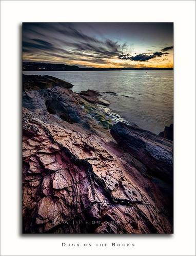 brixham torbay seascape devon southdevon rtaphotography light rocks dusk sunset sea sky clouds nikond7000 sigma1020mm456exdchsm evening layered