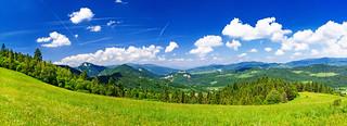 The Pieniny Mountains | by lskornog