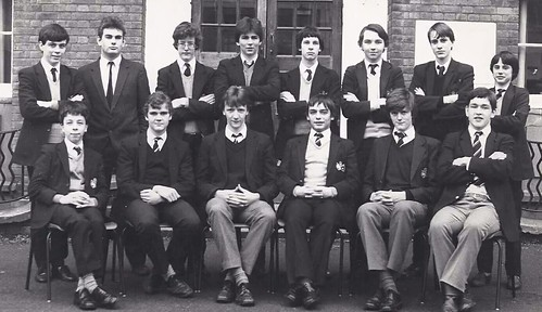 RGS High Wycombe School Chess Squad 1983-84