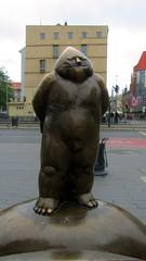 Wroclaw statue