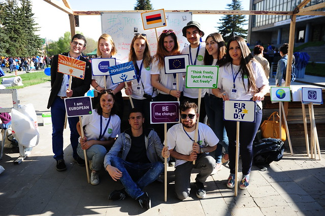 'Young European Ambassadors' in Armenia