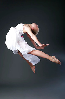 Dance Photography - Female Ballerina Jumping In Action | by vanitystudiosphotography