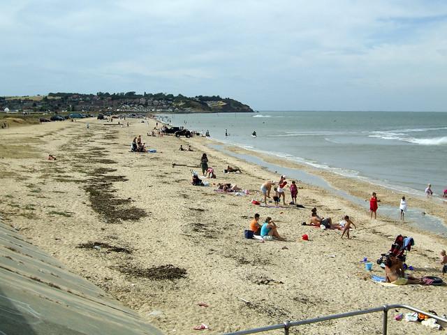 The beach at Leysdown-on-Sea