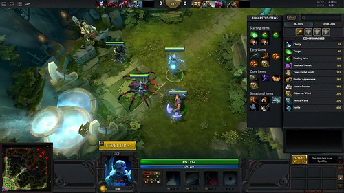 DotA 2 Screen | by PlayStation Europe