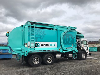 New Gas garbage truck | by Disposal Queen