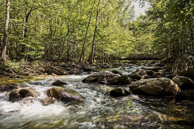 Little Pigeon River Gatlinburg Tennessee