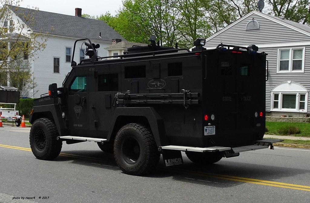 Massachusetts State Police - Lenco BearCat - Stop Team- Sp