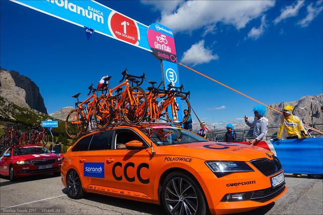 Orange Part II: CCC Teamcar
