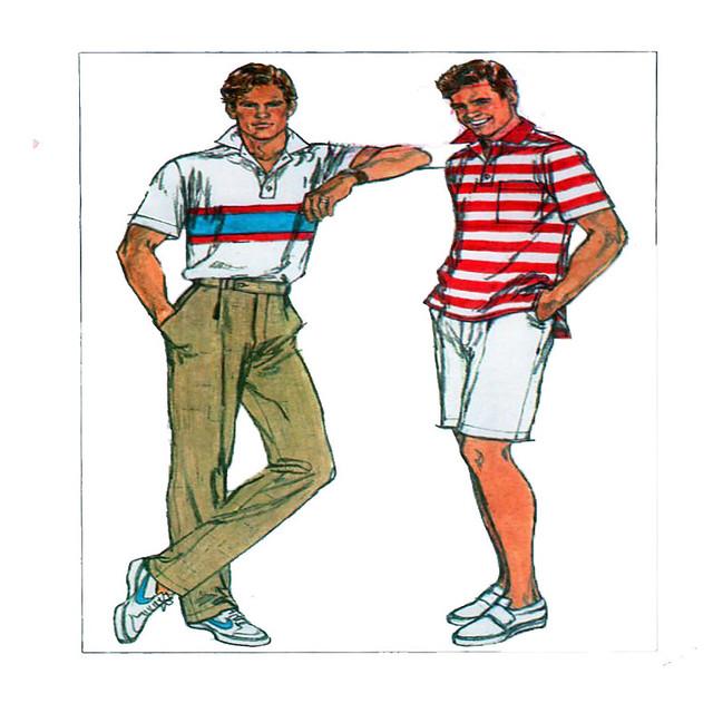 Simplicity 8048 mens sportswear