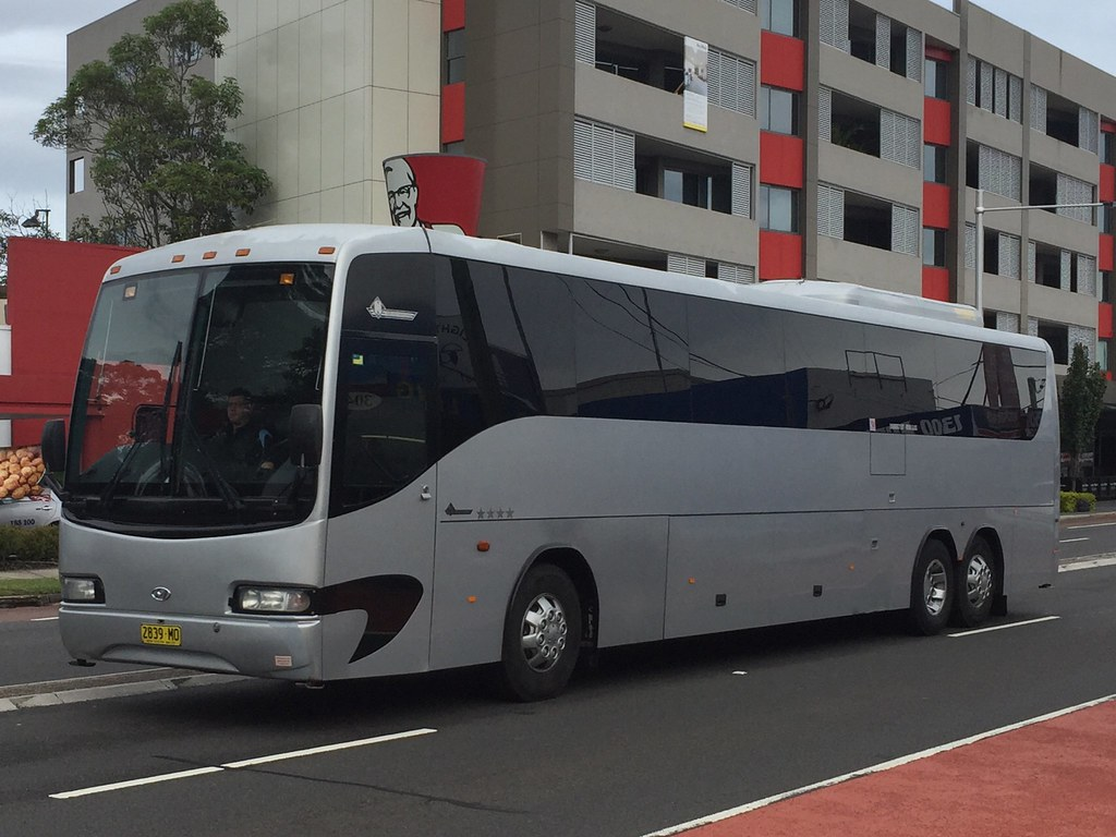 Hyundai Coach at Gladesville, NSW