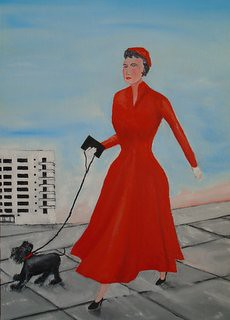 Madame Mitzi was sold to one of my private collectors