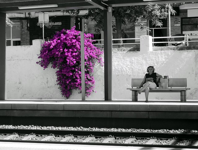 sitges railwaystation