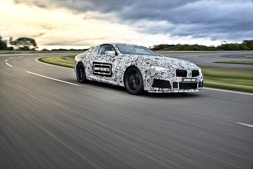 Camouflaged, Early Prototype of the Future BMW M8 | by Automotive Rhythms