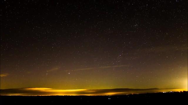 Aurora Borealis Timelapse From Oxfordshire 28/05/17