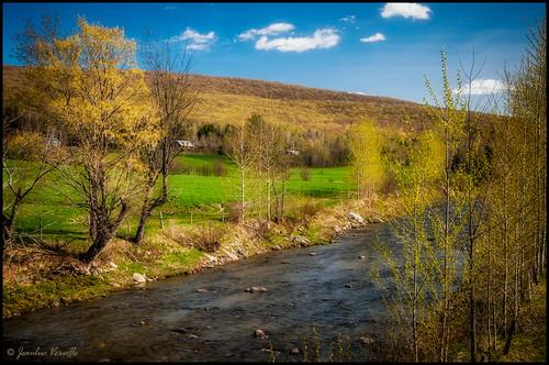 rivière river printemps springtime