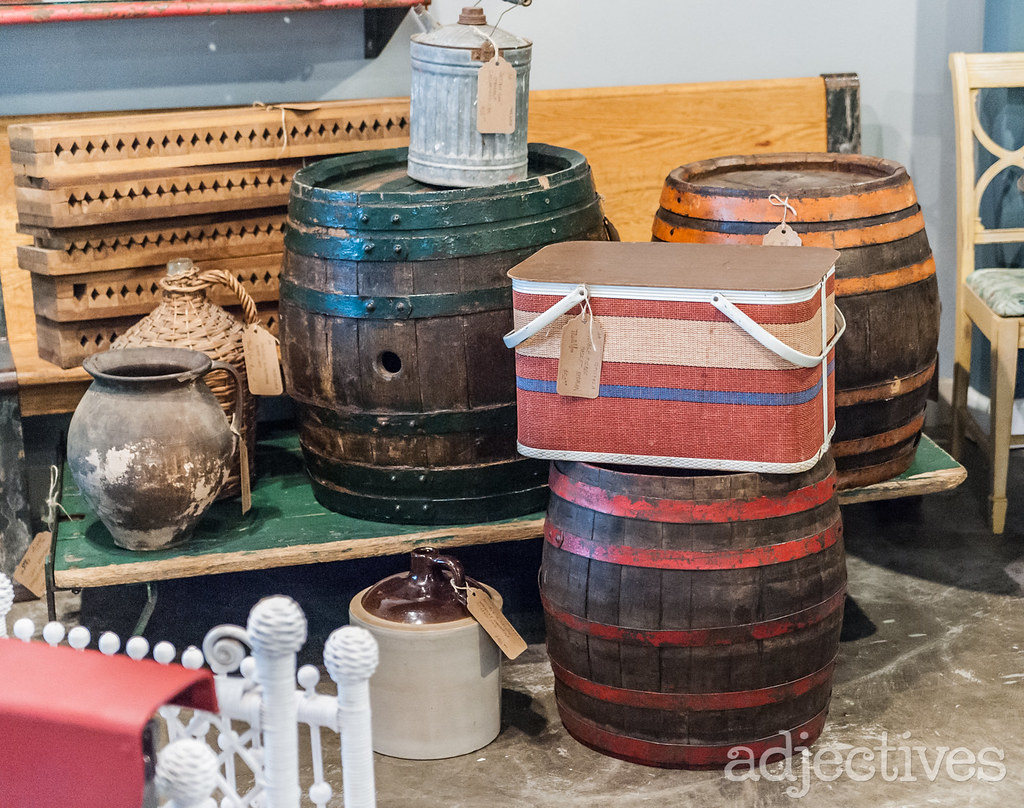 Vintage wine barrels in Altamonte by Artistic Antiquities