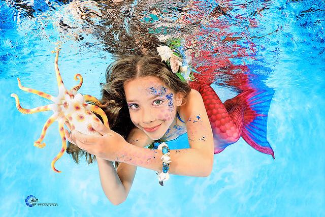 Meerjungfrauenschwimmen - Mermaid Schwimmkurse - Meerjungfrauen Schwimmen H2OFoto.de Unterwasserfotos - H2O photography with SUBAL underwater Camera housings