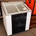 Sliding glass door fridge castors E150