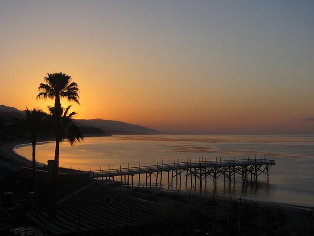 paradise cove sunrise 5.11 am