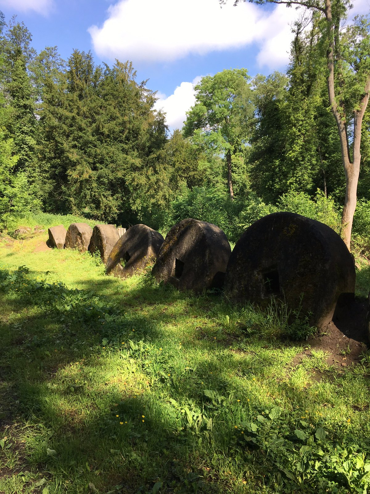 Chilworth Gunpowder Mills Millstones