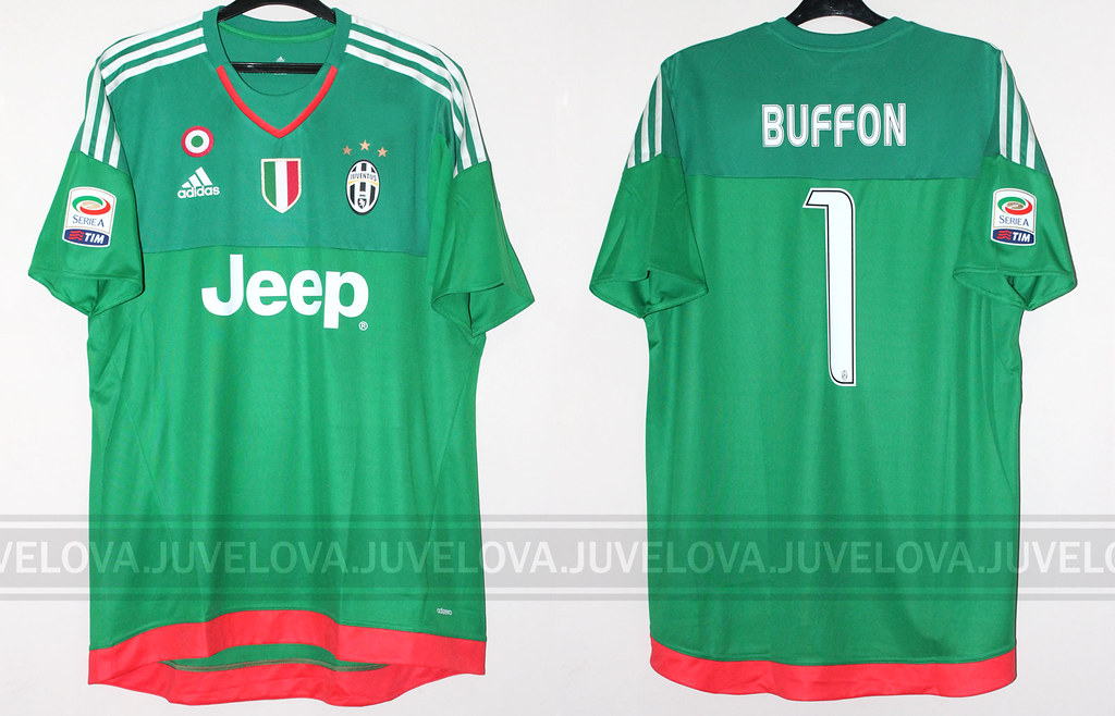 sale retailer 9af77 c0d88 2015/16 Goalkeeper Serie-A | Gianluigi Buffon | Match worn ...