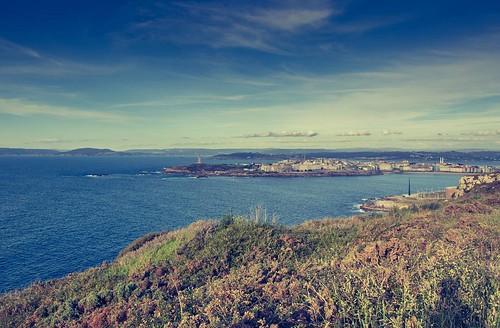 Vistas infinitas. #torredehercules #Coruña #olympus510 #sanpedro #photography   by treboada