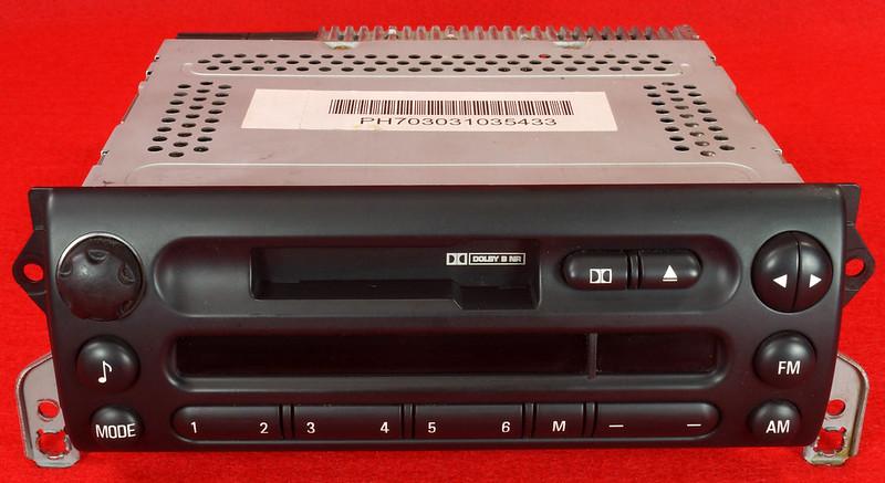 RD16592 Original BMW Business Mini R50 R52 R53 Dolby Kassettenradio Cooper One Autoradio 6512 6923503-01 DSC00747