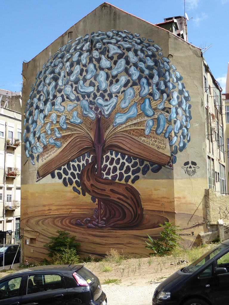Lisbon graffiti mural by duncan lisbon graffiti mural by duncan