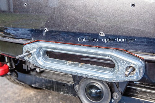 Bumper Trim Lines for Fairlead | by 2180miles
