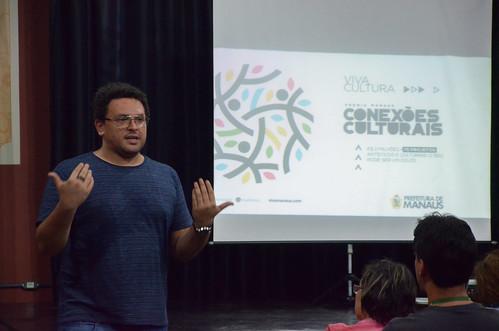 Primeira oficina de facilitação do Edital Prêmio Manaus de Conexões Culturais 31/05/2017