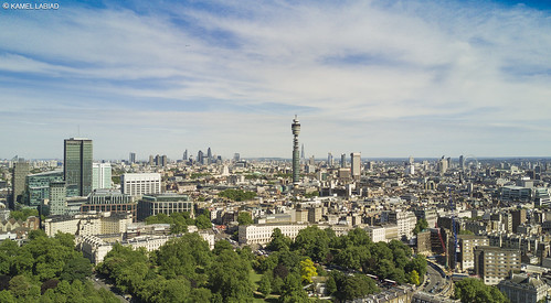 London and BT Tower | by Kamel3D.UK