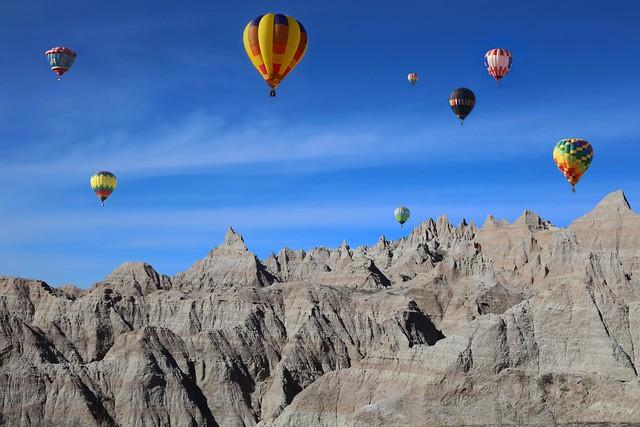 Balloons and Badlands