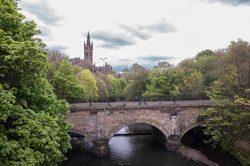 River Kelvin, Univ of Glasgow | by John Loach