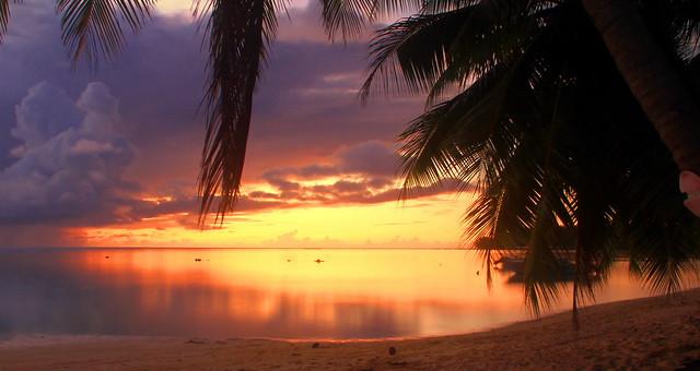 Sunset de rêve à Moorea