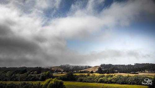 bodega california landscape hdr panorama clouds