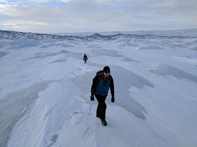 March 28, 2017 - Day 2 - Heading out onto the Greenland Ice Sheet