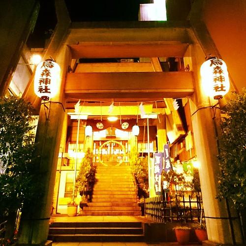 20170616 お疲れけるびん♪ . #ig_nihon #ig_japan #loves_nippon #毎月16日はけるびんの日 #けるびん #けるびん部 #烏森神社 #新橋 #神社 #shrine #webstagram