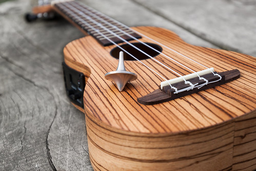Magnesium Top on Ortega Ukulele