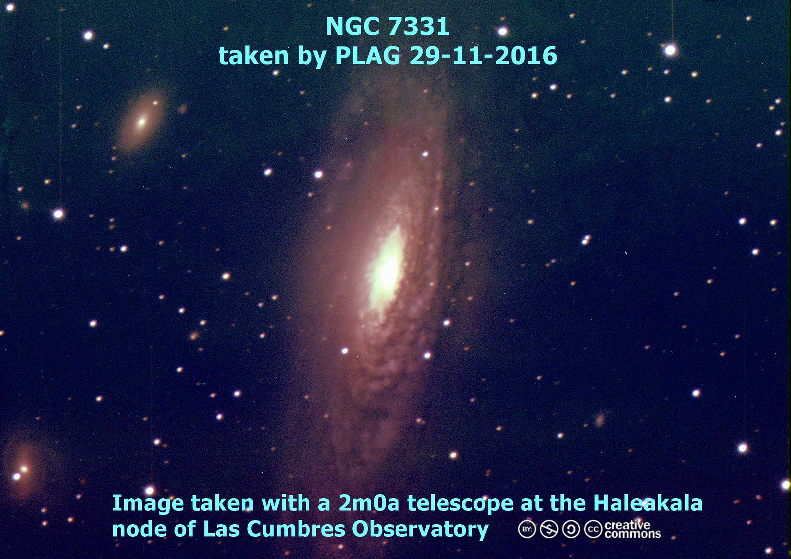 NGC 7331 Edit v3 photoscape2 with text