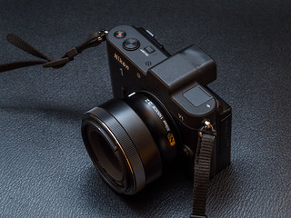 Nikon 1 Nikkor 32mm F1.2 and Nikon 1 V1 top view | by Ivan Radic