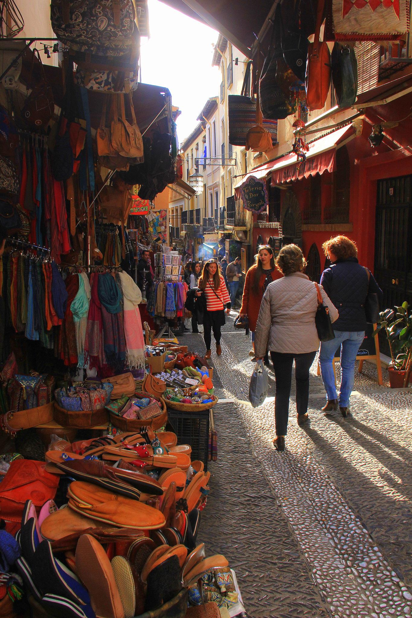 Grand old Granada is a Moorish dream