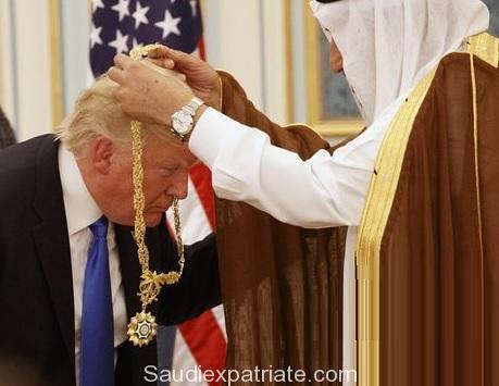Top Civilian Honor to Donald Trump in Saudi by King Salman