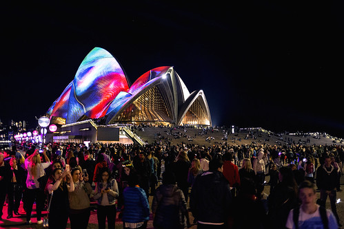 Sydney Opera House Vivid | by Photos By Dlee